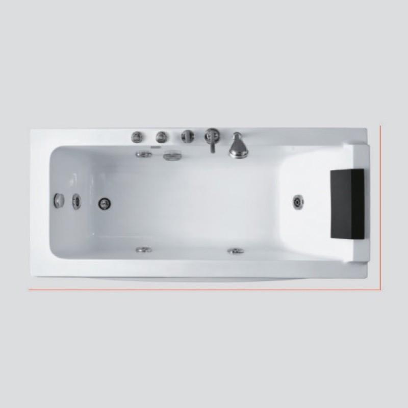 Eurano Massage Bathtub Ern 11341 Builders Hardware